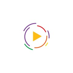 Play logo Vector