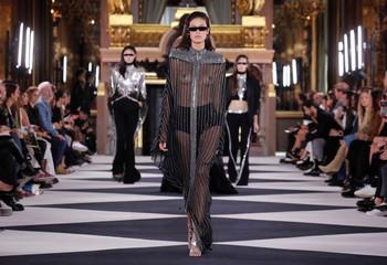 Balmain Spring/Summer 2020 women's ready-to-wear collection show at Paris Fashion Week