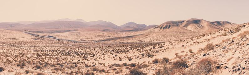 Mountain landscape, Fuerteventura, Spain
