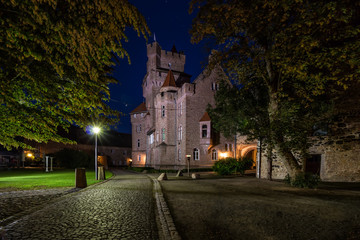 Schloss Altenhausen zur blauen Stunde 2