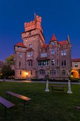 Schloss Altenhausen zur blauen Stunde