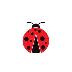 Beauty bug vector illustration icon