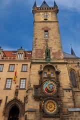 Astronomische Uhr am Rathaus in Prag