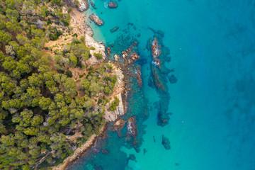Fototapete - Beautiful landscape of tropical coast