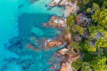 Fototapete - Picturesque coast of Costa Brava