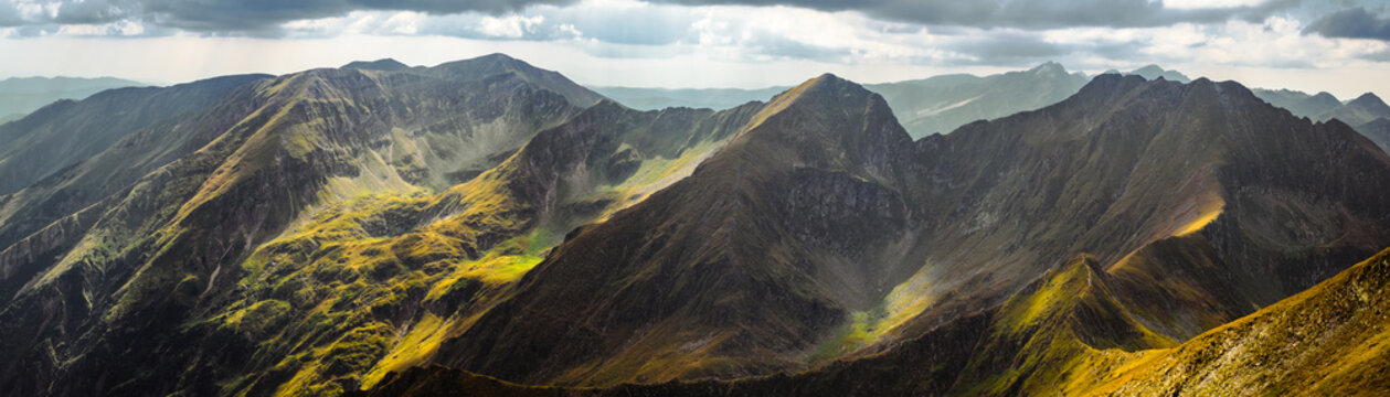 Romanian mountain landscape