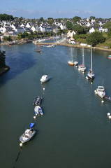 Port du Bono, golf du Morbihan, Brittany, France