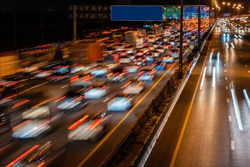 traffic jam Fotomurales