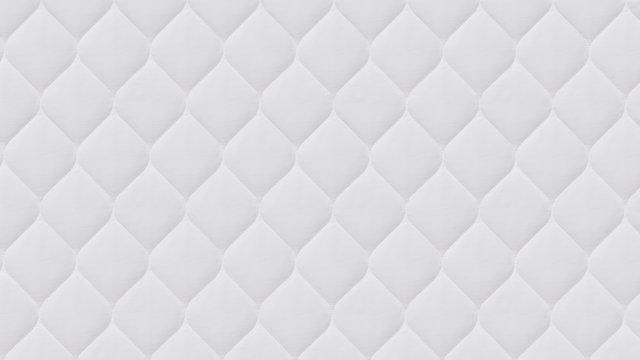 close up of white mattress bedding pattern background