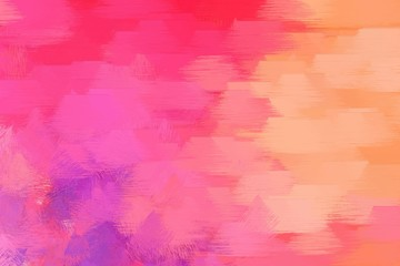 abstract grunge brush painted illustration with light coral, pale violet red and light salmon color. artwork can be used as texture, graphic element or wallpaper background