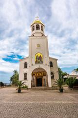 Orthodox church in the holiday town of Sozopol, Bulgaria, near Burgas