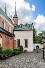 Cathedral in Gdansk Oliwa Poland