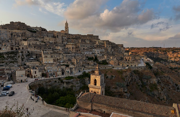 Just before sunset at Sassi Di Matera