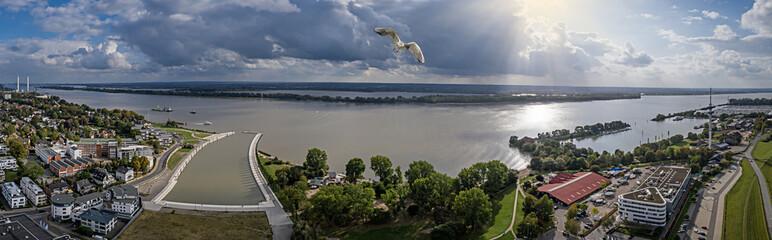 Luftbild Wedel Hamburg