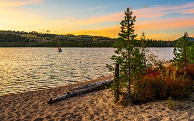 Redfish Lake Sunset