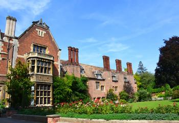Buildings of Pembroke College in Cambridge, Great Britain