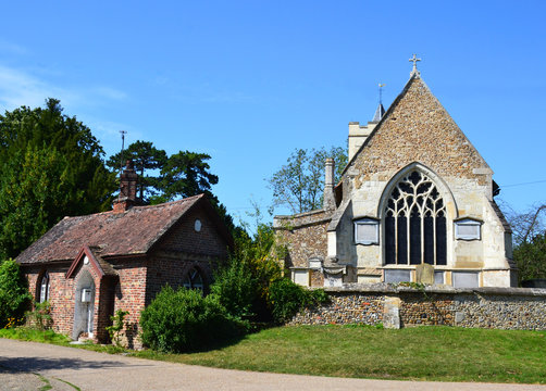 St. Andrew and St. Mary church of Grantchester, United Kingdom