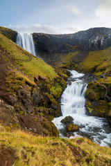 Fototapete - Wasserfall - Island