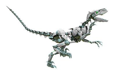 velociraptor robot running