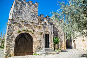 Wall Mural - Aiguèze, Gard, Occitanie, France.