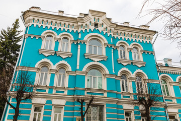 the house where John Reed stayed in the historic city, Serpukhov, Russia