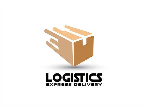 Fast box vector logo