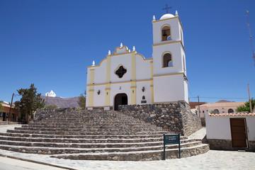 Main church at Angastaco, Argentina