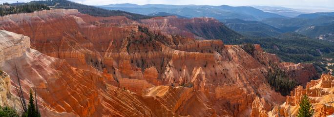 Deurstickers Baksteen USA CedarBreaks National Monument