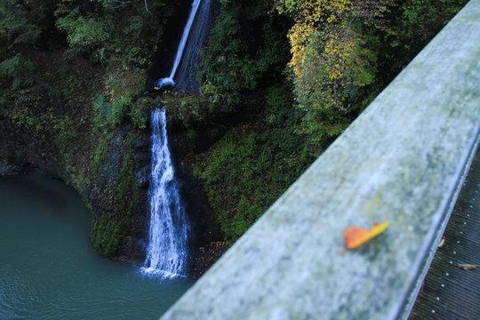 吾妻渓谷・白糸の滝