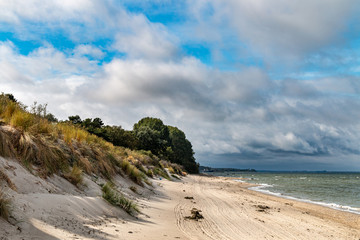 Herbststrand,