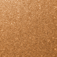 Copper gold glitter texture background sparkling shiny wrapping paper for Christmas holiday seasonal wallpaper  decoration, greeting and wedding invitation card design element