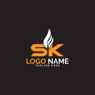 SK oil and gas company logo