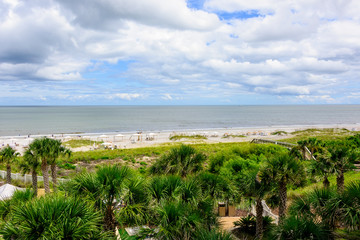 Beach on Amelia Island, Florida