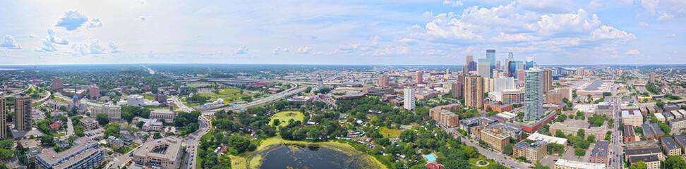 Loring Park Aerial - fototapety na wymiar
