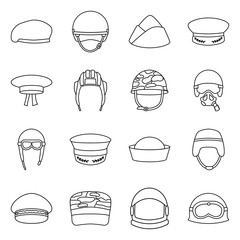 Isolated object of uniform and soldier logo. Collection of uniform and modern vector icon for stock.