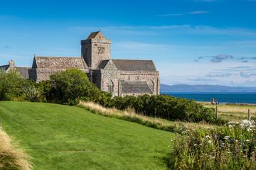 Iona Abbey on the Isle of Iona, Scotland