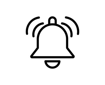 Bell line icon