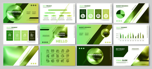 This template is the best as a business presentation, used in marketing and advertising, flyer and banner, the annual report Wall mural
