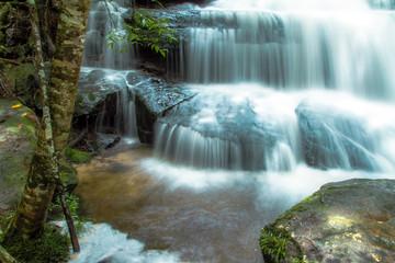 Poster de jardin Cascades waterfall