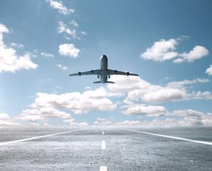 Fototapete - Big passenger plane