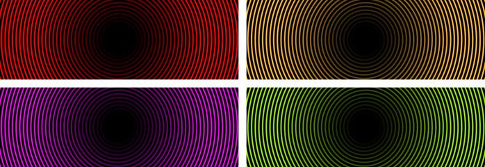 Foto op Plexiglas Spiraal Spirale sur fond de couleur