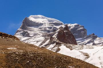 Obraz The western face of Maunt Kailash - fototapety do salonu