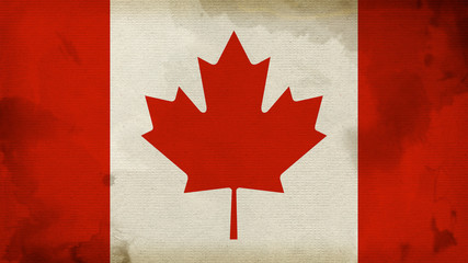 Canada Flag Texture