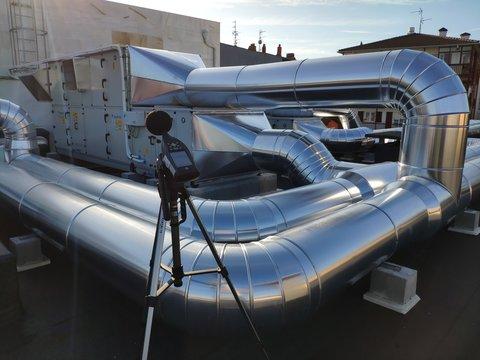 Medición ruido ambiental acústica medio ambiental