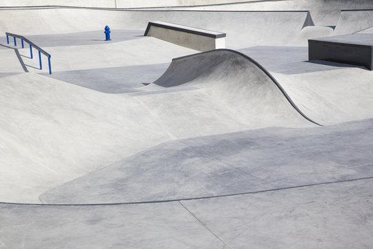 Bau von Sportanlagen: Moderner Skatepark