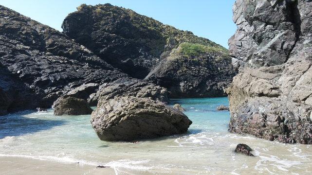 Boulders at Kynance, Cornwall