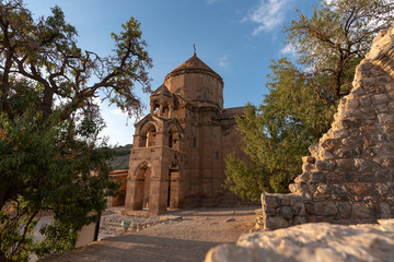Church of the Holy Cross (Cathedral of the Holy Cross) on Akdamar Island, Lake Van, Turkey