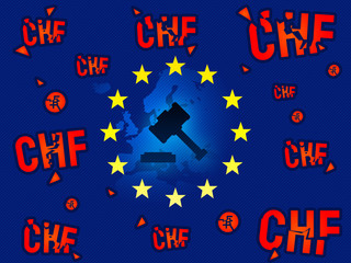 European Union court, verdict on CHF swiss currency loans news background