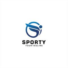 Sporty Logo Design Inspiration and concept