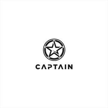 Captain Logo Design Inspiration idea
